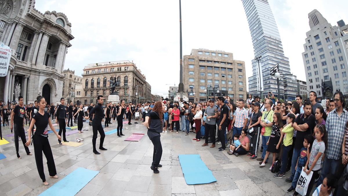 Ballet Folklórico de México en el Palacio de Bellas Artes